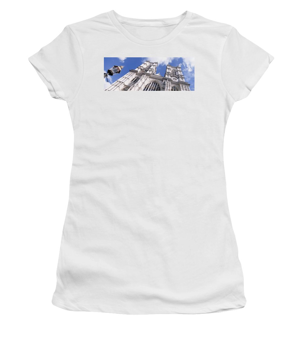 Westminster Abbey Women's T-Shirt (Athletic Fit) featuring the photograph Westminster Abbey by Axiom Photographic