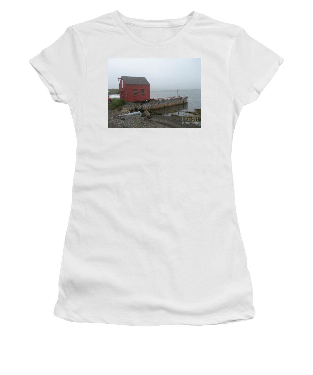 Photograph Bonavista Island Atlantic Ocean Newfoundland Women's T-Shirt (Athletic Fit) featuring the photograph Bonavista by Seon-Jeong Kim