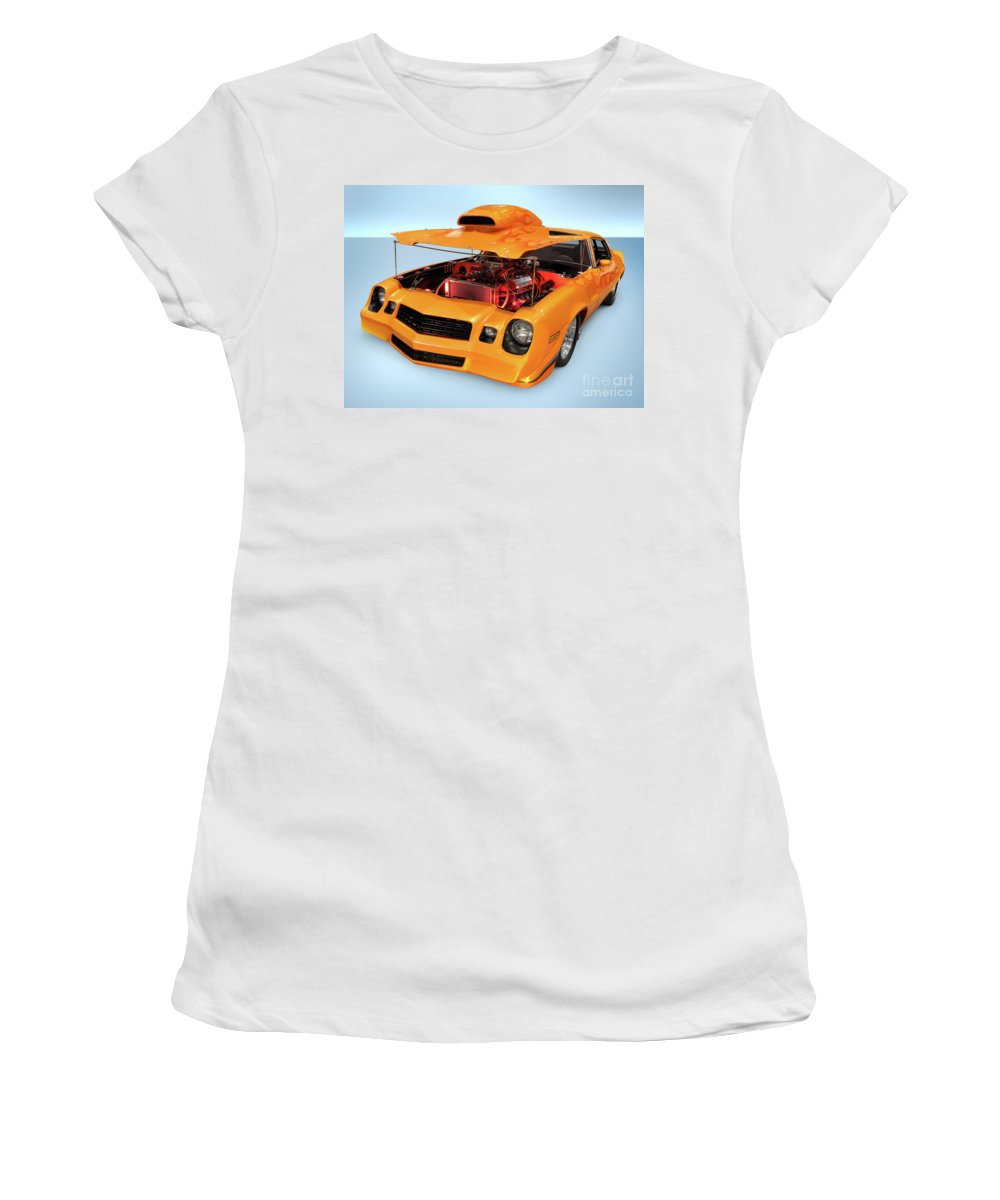 Car Women's T-Shirt featuring the photograph Custom Muscle Car by Oleksiy Maksymenko