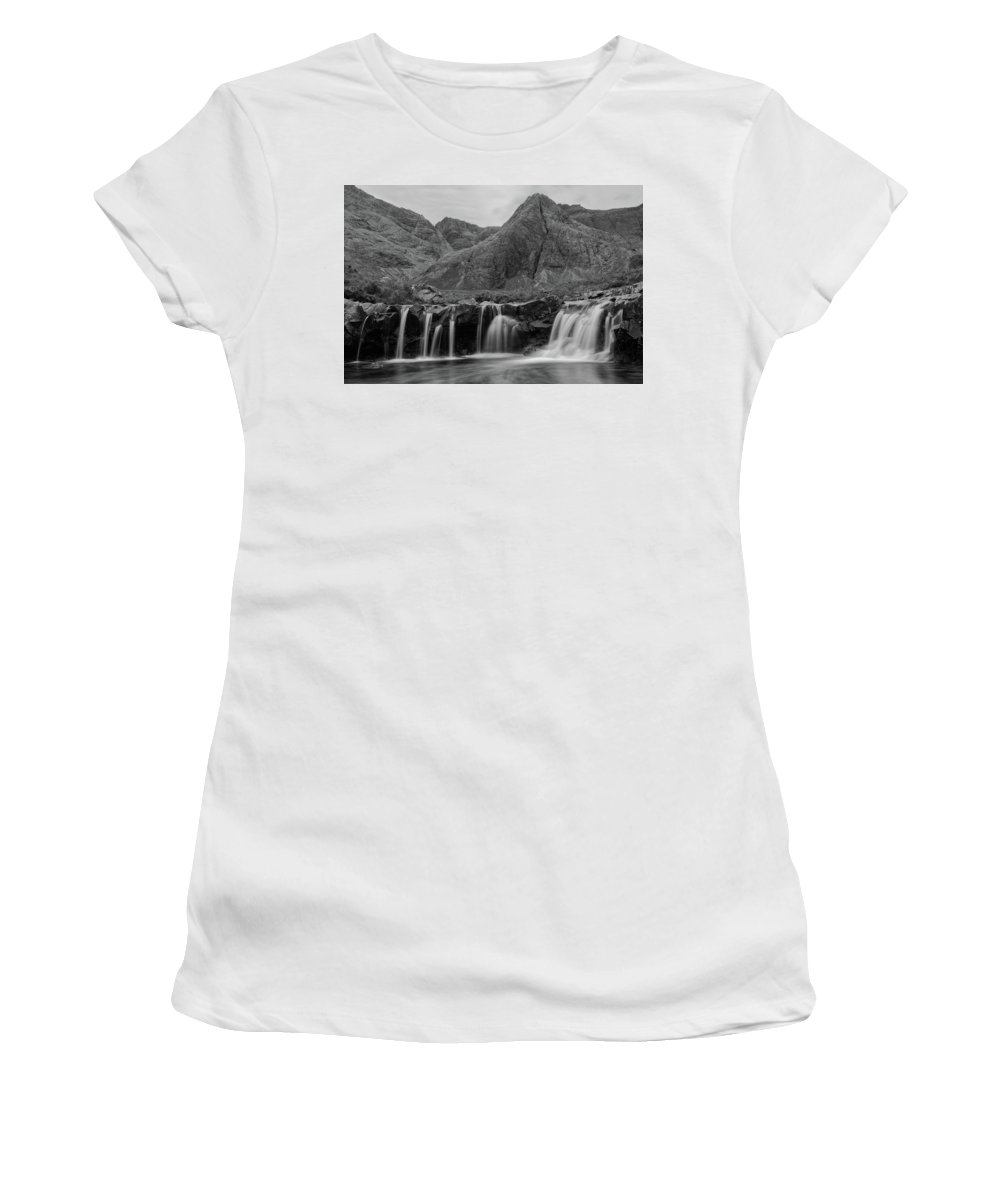 Europe Women's T-Shirt (Athletic Fit) featuring the photograph Fairy Pools by Christian Heeb