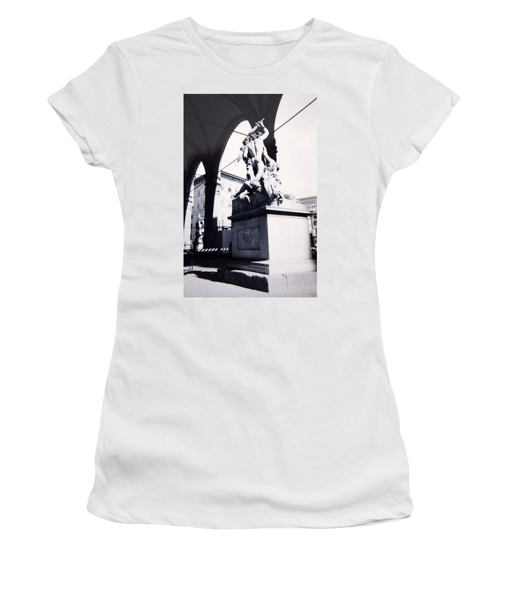 Firenze Women's T-Shirt (Athletic Fit) featuring the photograph Florence by Kurt Hausmann