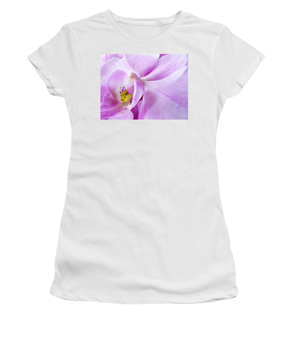 Orchid Women's T-Shirt featuring the photograph Orchid by Daniel Csoka