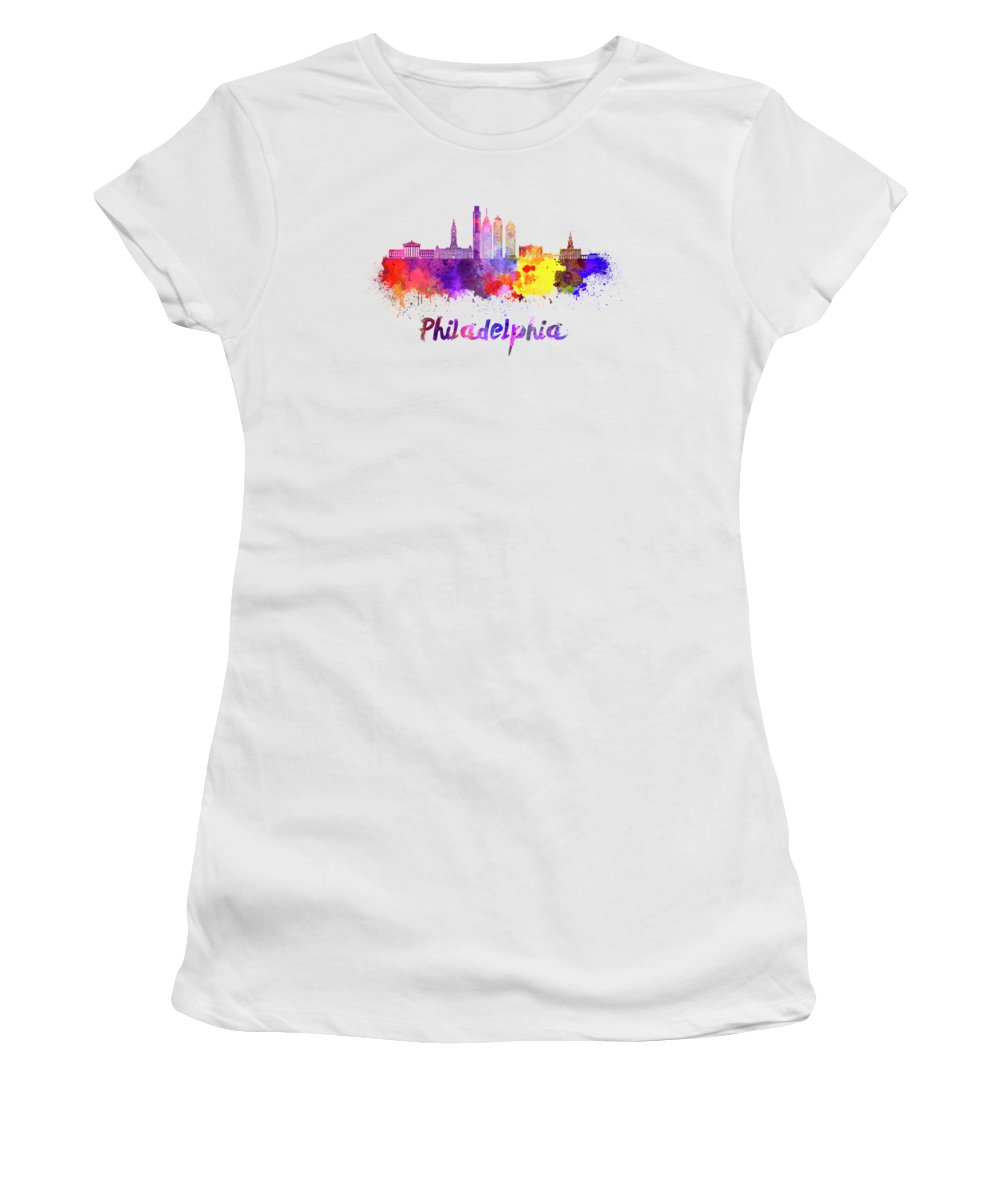 Philadelphia Skyline Junior T-Shirts
