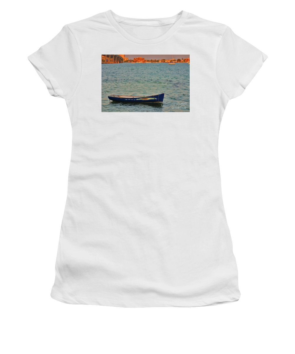Women's T-Shirt featuring the photograph 1- Waiting by Joseph Keane
