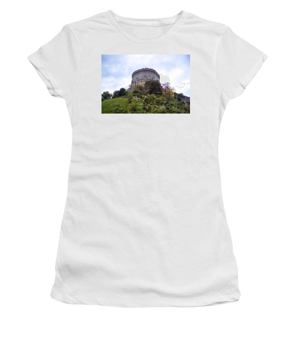 Windsor Castle Women's T-Shirt featuring the photograph Windsor Castle by Joana Kruse