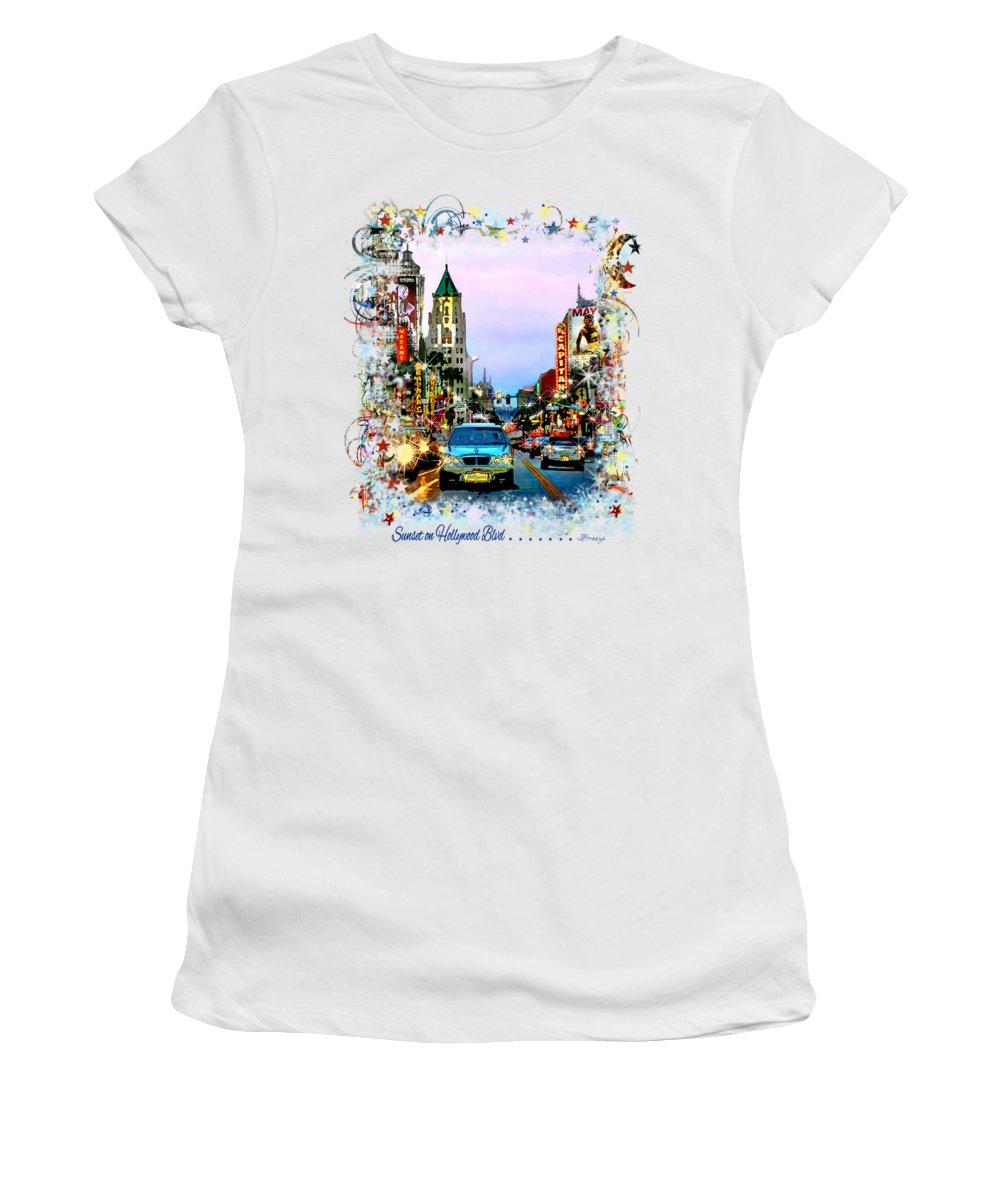 Traffic Signals Photographs Women's T-Shirts