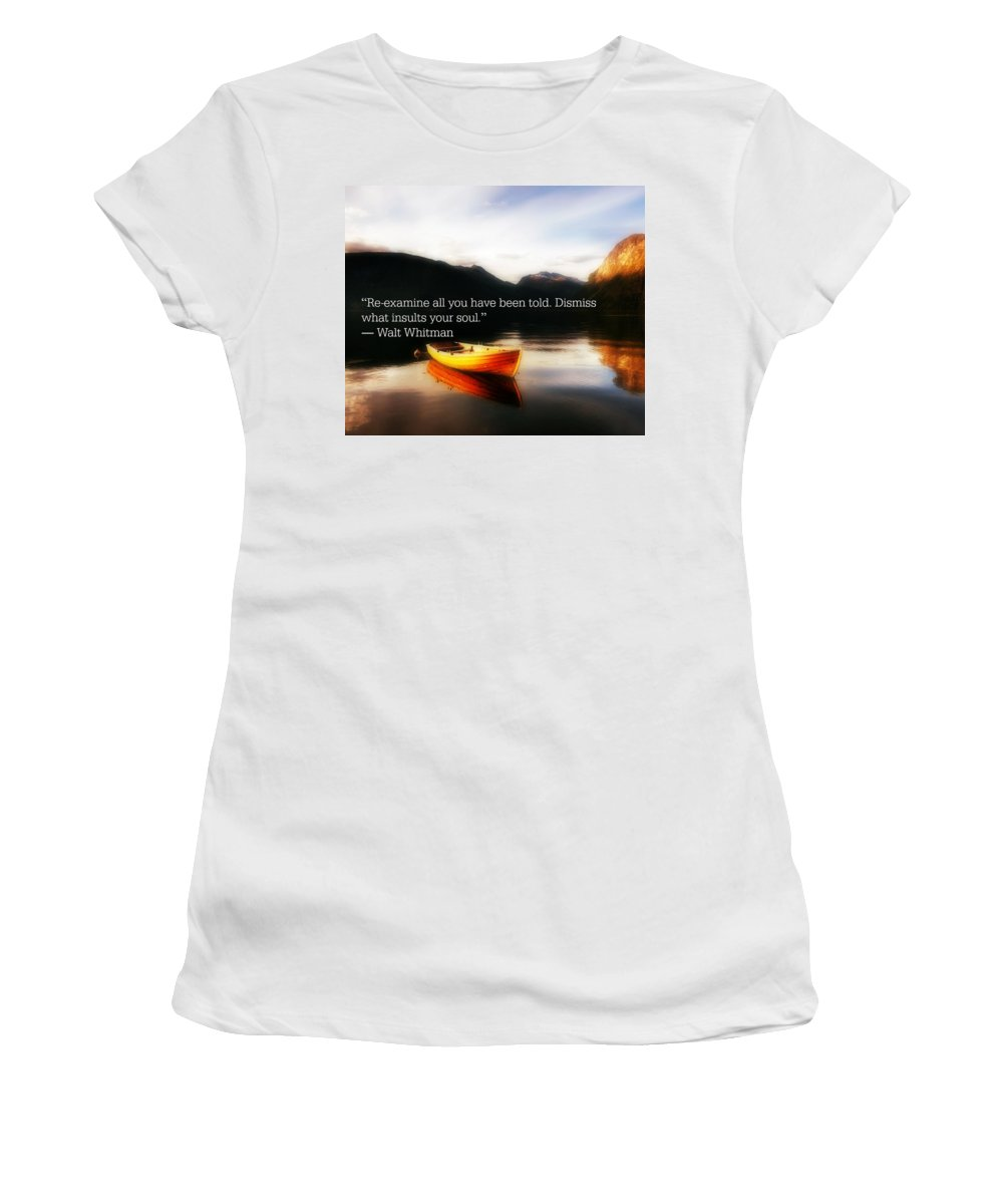 Women's T-Shirt featuring the photograph 2018-12q by David Norman