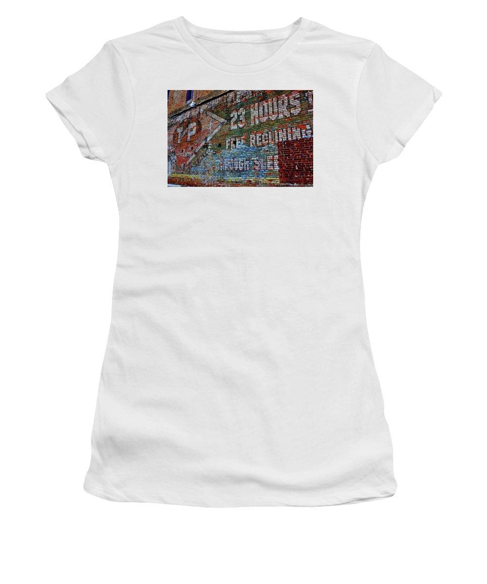 Deep Ellum Women's T-Shirt (Athletic Fit) featuring the photograph 23 Hours by Daniel Koglin