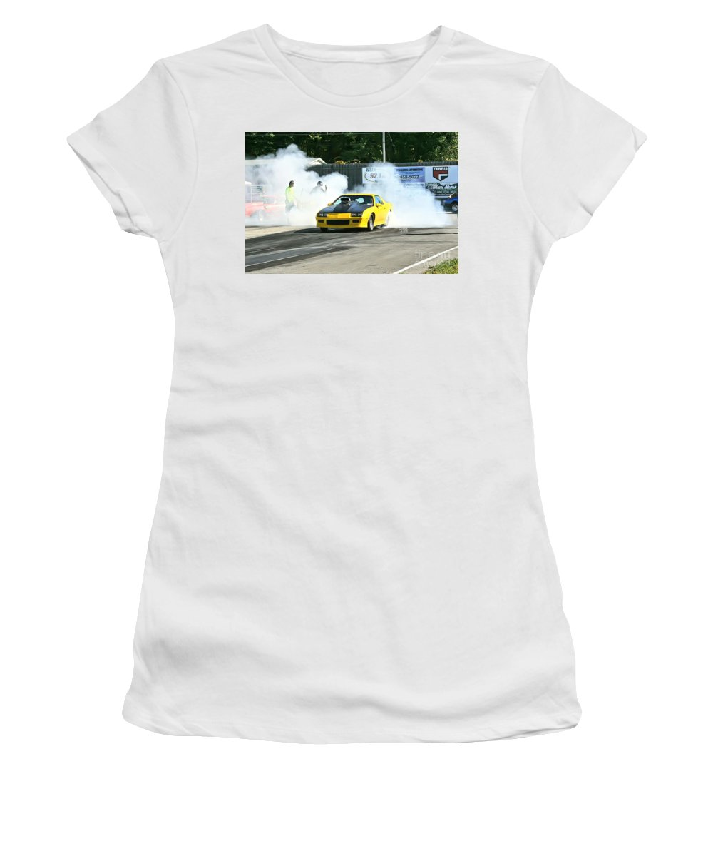 09-29-13 Women's T-Shirt (Athletic Fit) featuring the photograph 2890 09-29-13 Esta Safety Park by Vicki Hopper