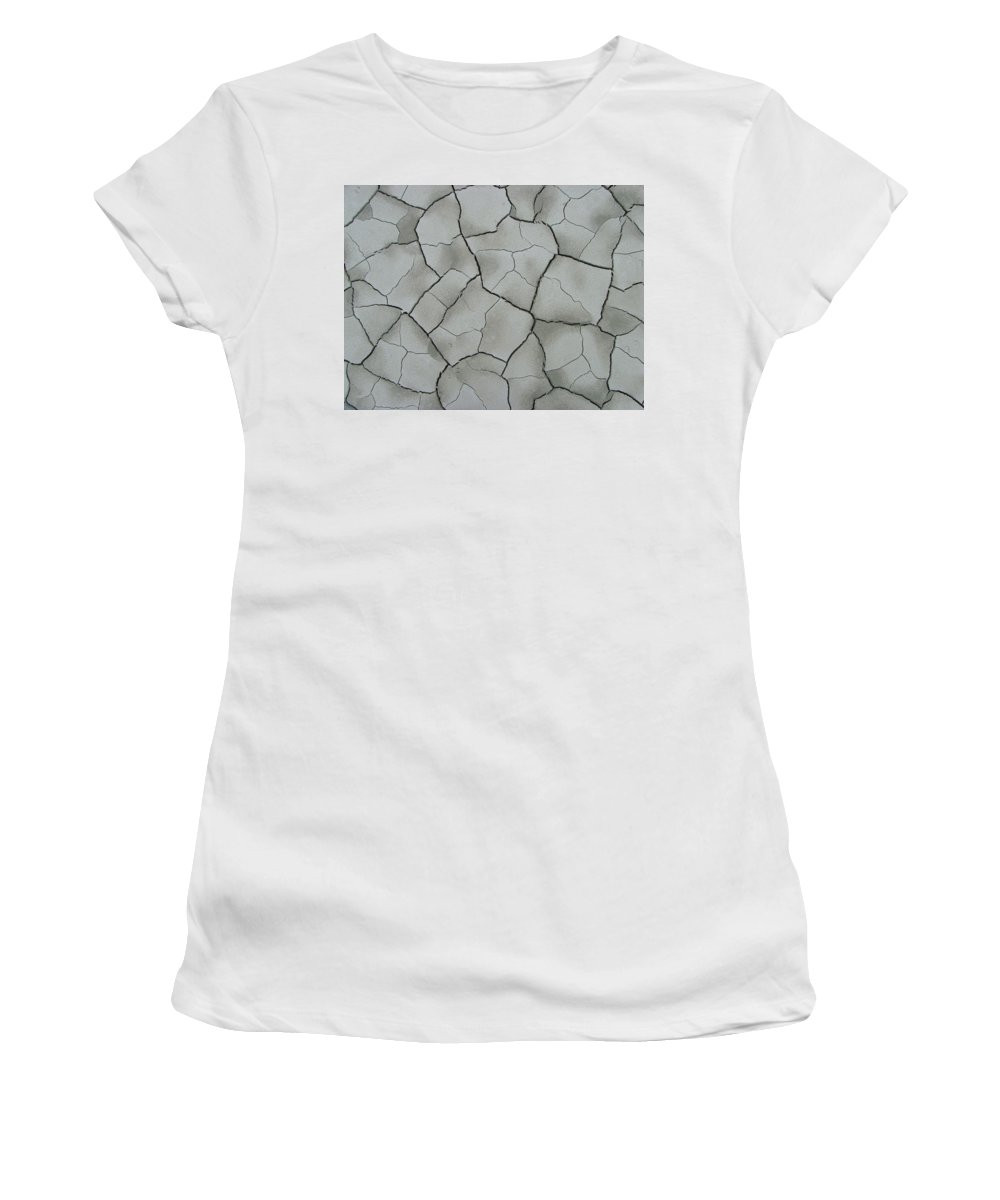 Abstract Women's T-Shirt (Athletic Fit) featuring the photograph A Cracking Shot by Bob Kemp