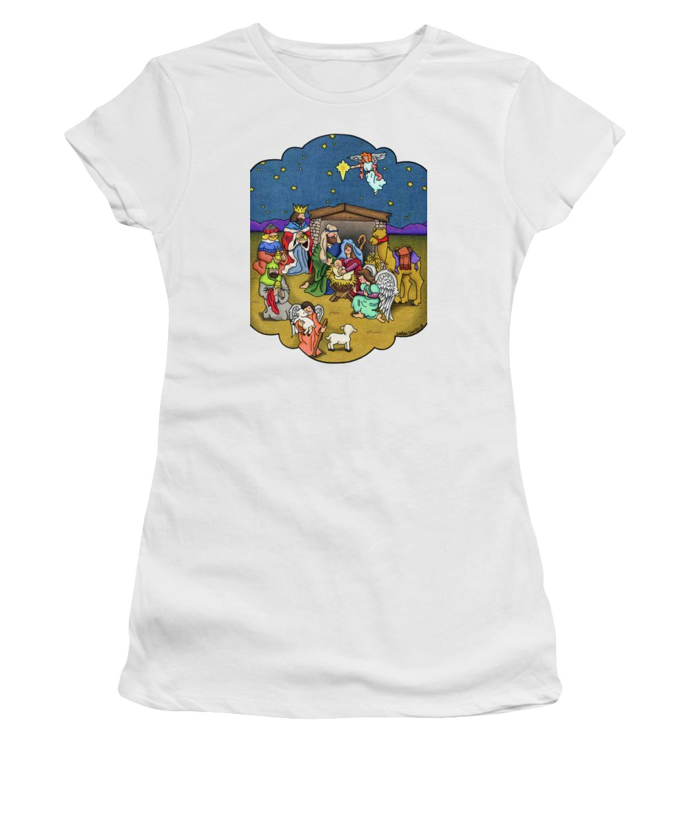 Cherub Paintings Women's T-Shirts