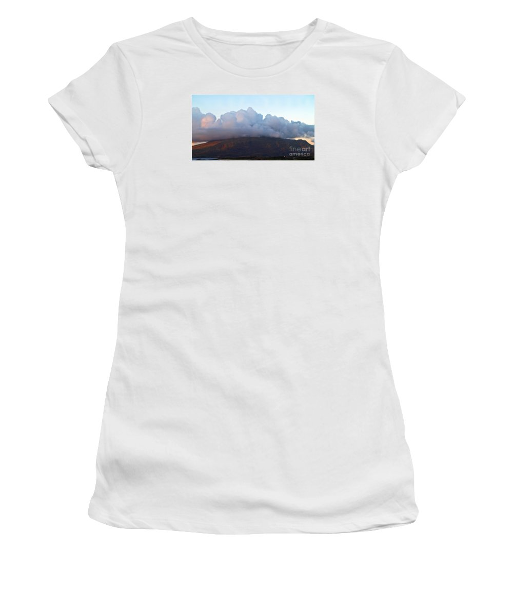 Fine Art Photography Women's T-Shirt (Athletic Fit) featuring the photograph A View To Live For by Patricia Griffin Brett