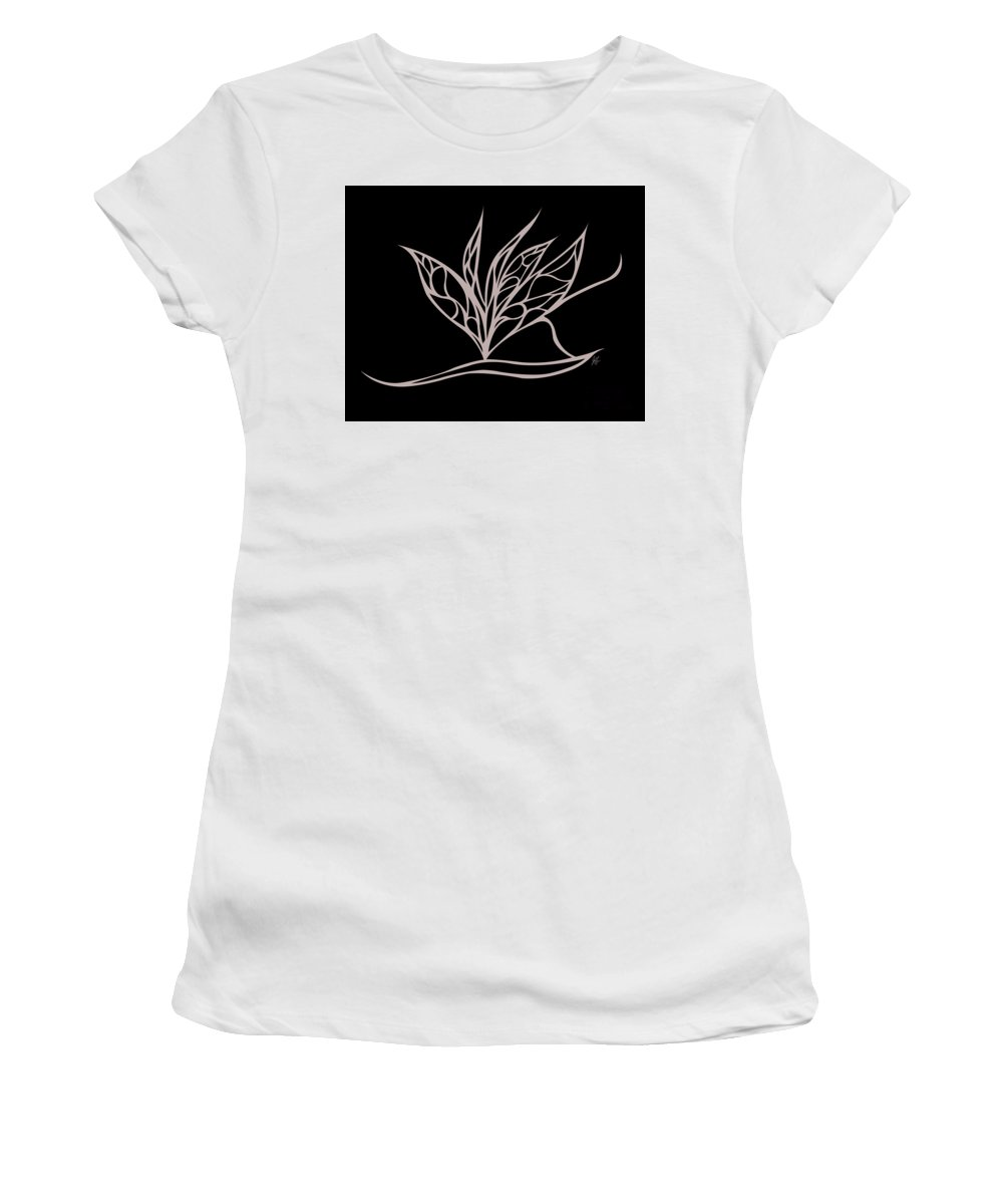 Women's T-Shirt (Athletic Fit) featuring the digital art Absent Fairy by Jamie Lynn