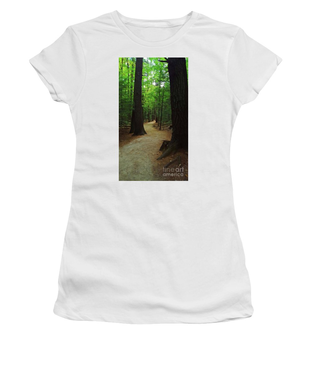 Adventures Women's T-Shirt featuring the photograph Adventures by Patti Whitten