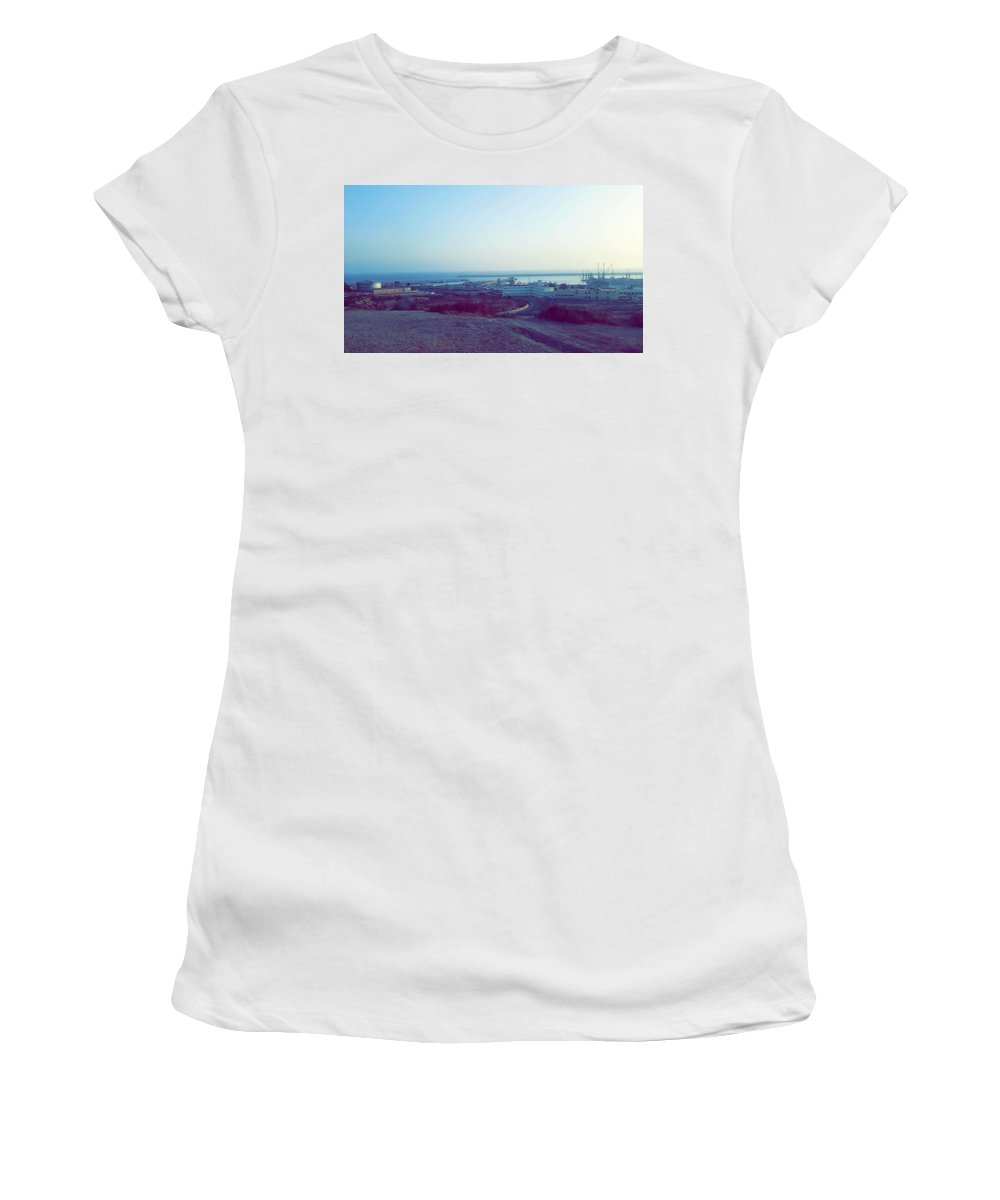 Nature Women's T-Shirt featuring the photograph Agadir Nature by Hassan Boumhi