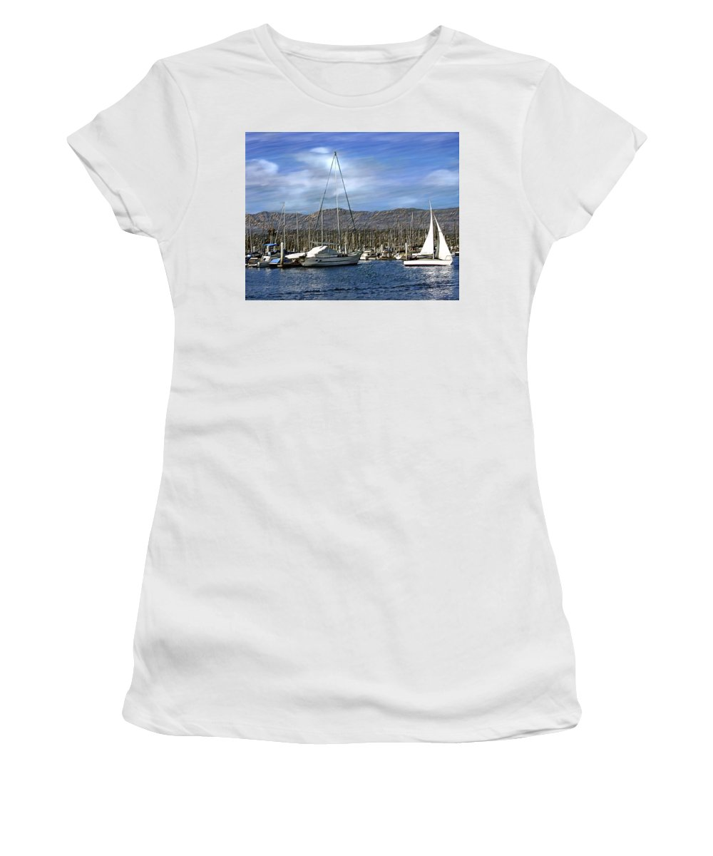 Ocean Women's T-Shirt (Athletic Fit) featuring the photograph Another Sunny Day by Kurt Van Wagner