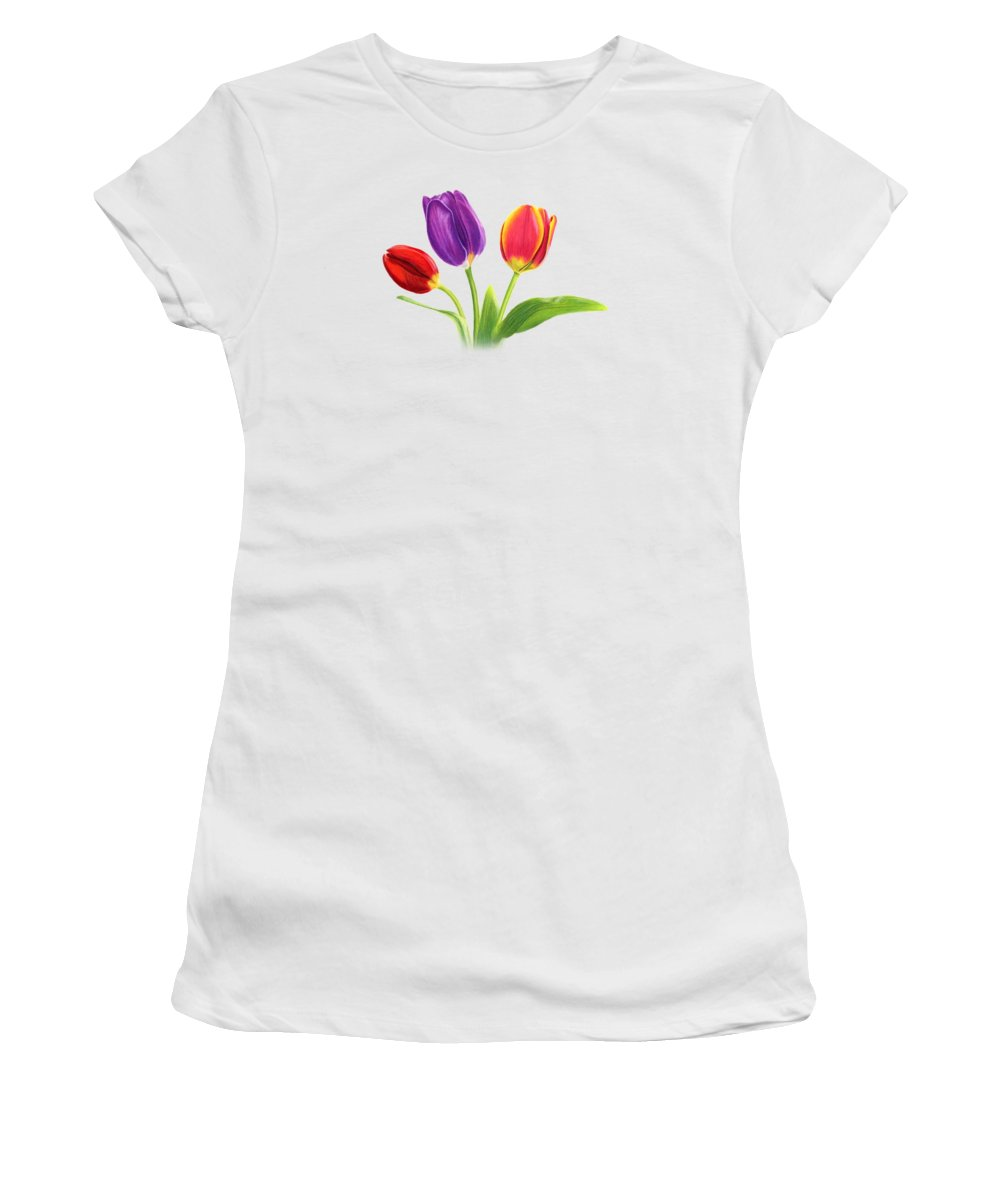 Tulips Women's T-Shirts