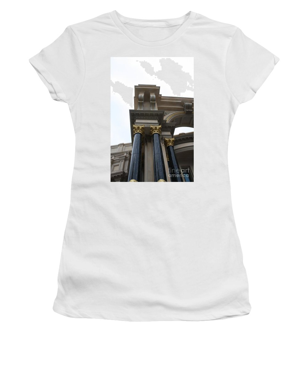 Building Women's T-Shirt (Athletic Fit) featuring the photograph Attention To Detail by John W Smith III