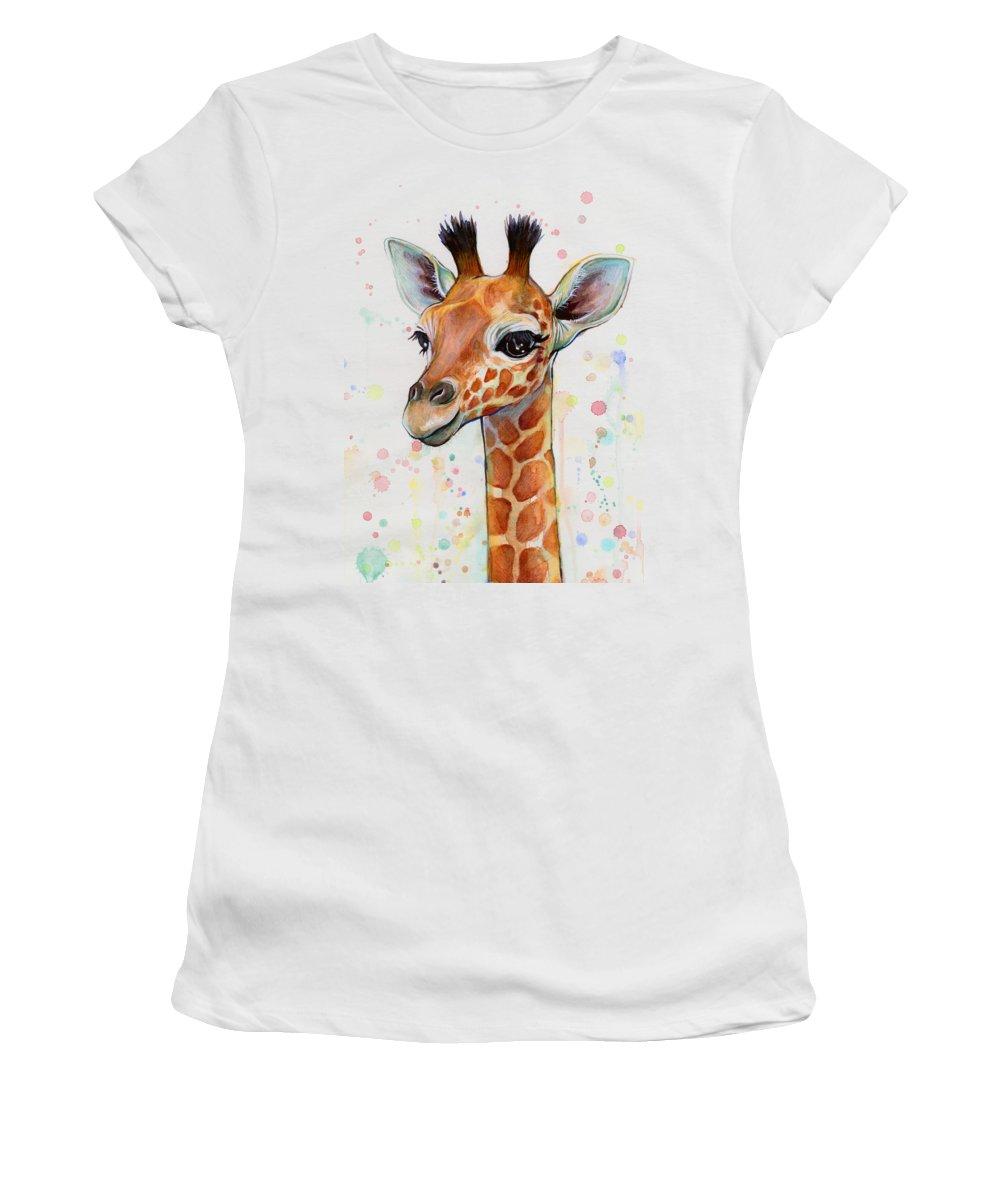 Giraffe Junior T-Shirts