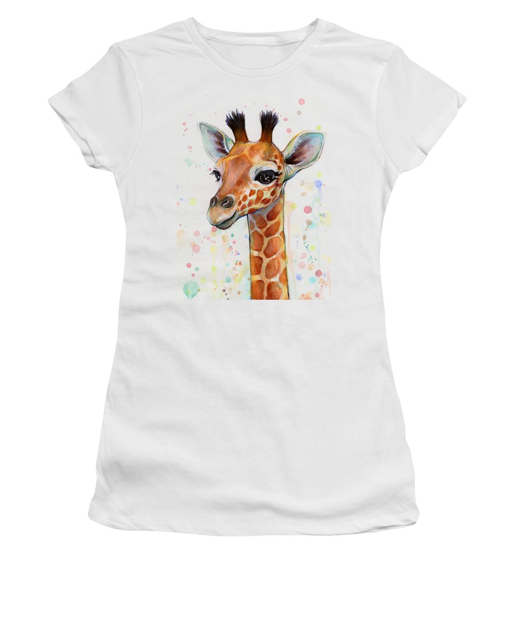 Giraffe Women's T-Shirts