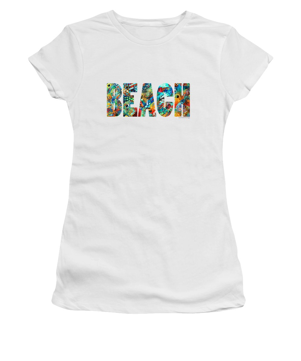 Sand Women's T-Shirts