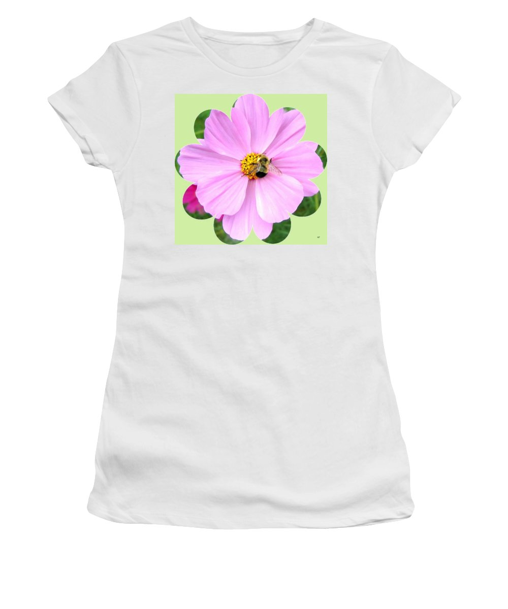 Photo Design Women's T-Shirt (Athletic Fit) featuring the photograph Bee-line 1 by Will Borden