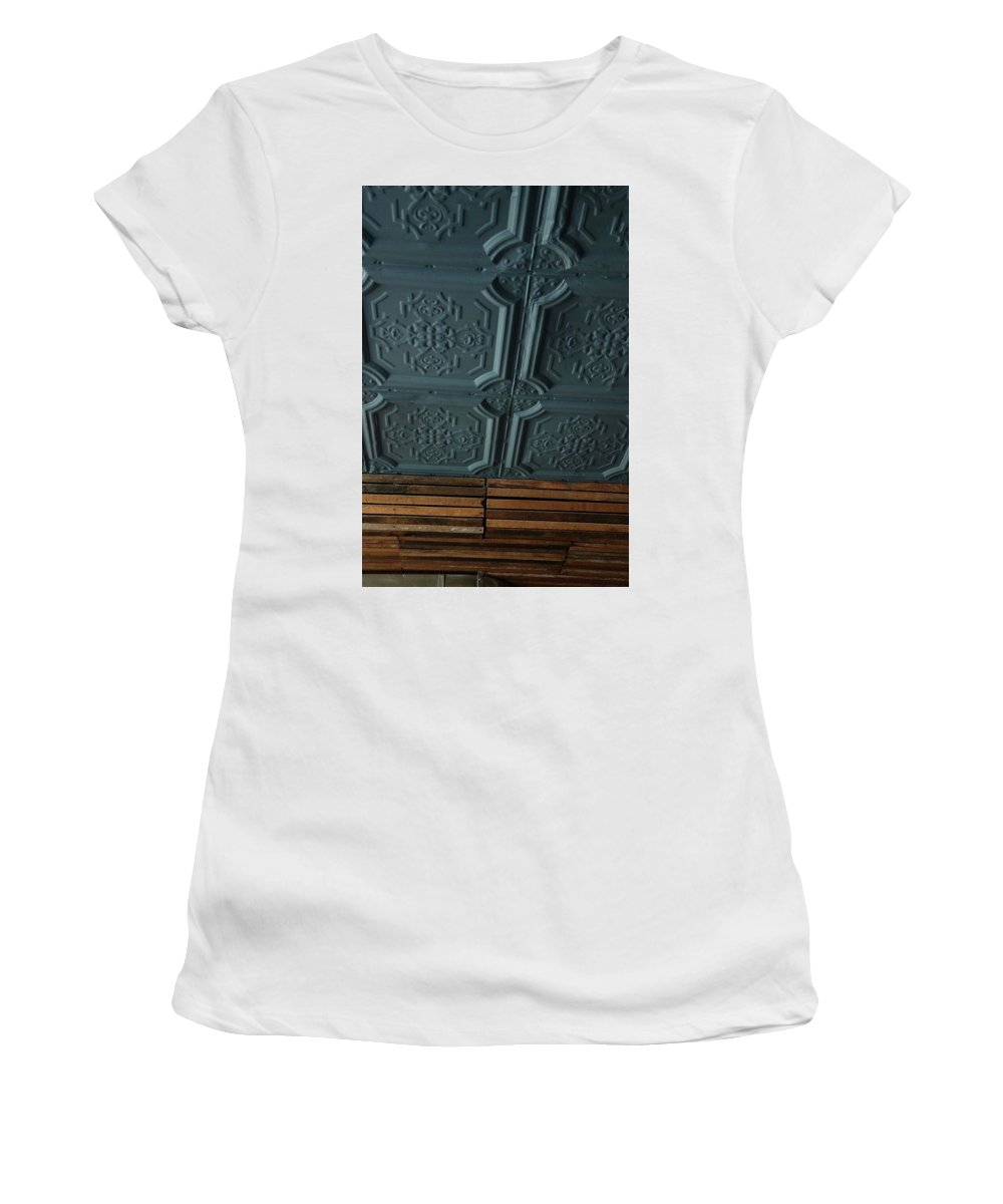 Women's T-Shirt (Athletic Fit) featuring the photograph Beer Ceiling by Kevin Cote