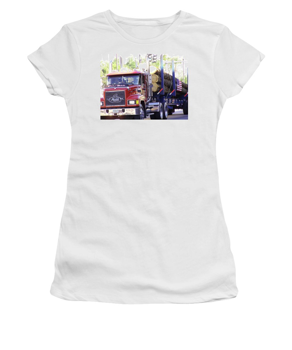 Big Mac Women's T-Shirt (Athletic Fit) featuring the photograph Big Mack by Marilyn Holkham