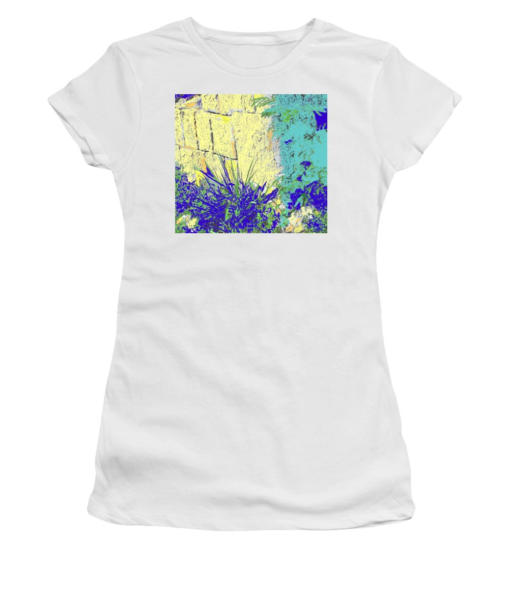 Brimstone Women's T-Shirt (Athletic Fit) featuring the photograph Brimstone Blue by Ian MacDonald