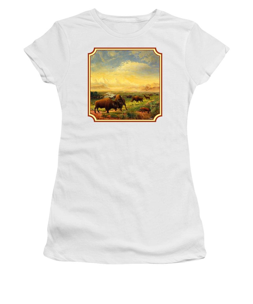 Montana Bison Women's T-Shirts