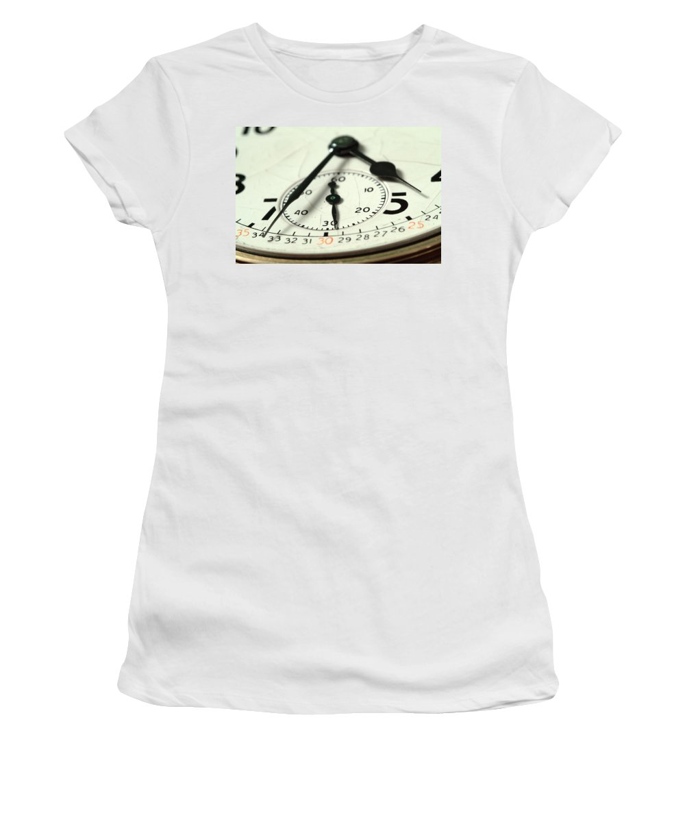 Watch Women's T-Shirt (Athletic Fit) featuring the photograph Captured Time by Michael McGowan