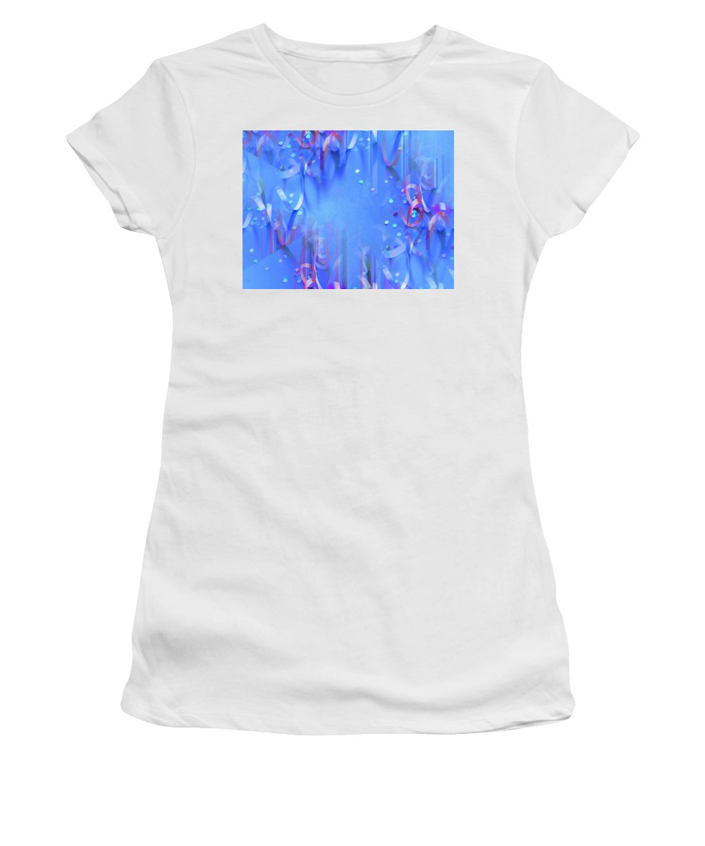 Celebrate Women's T-Shirt (Athletic Fit) featuring the photograph Celebrate by Tim Allen