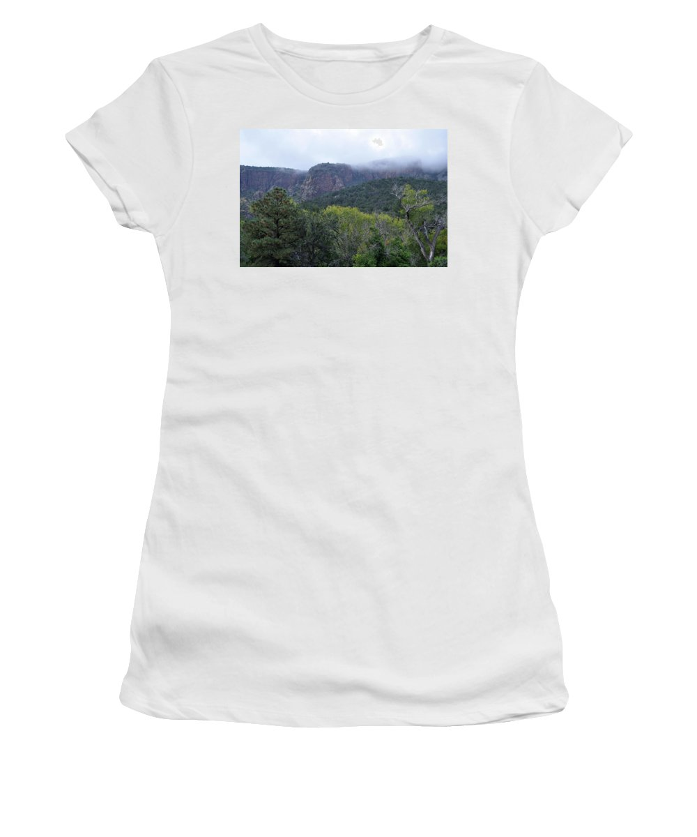 New Mexico Women's T-Shirt (Athletic Fit) featuring the photograph Cibola View by Wes Hanson