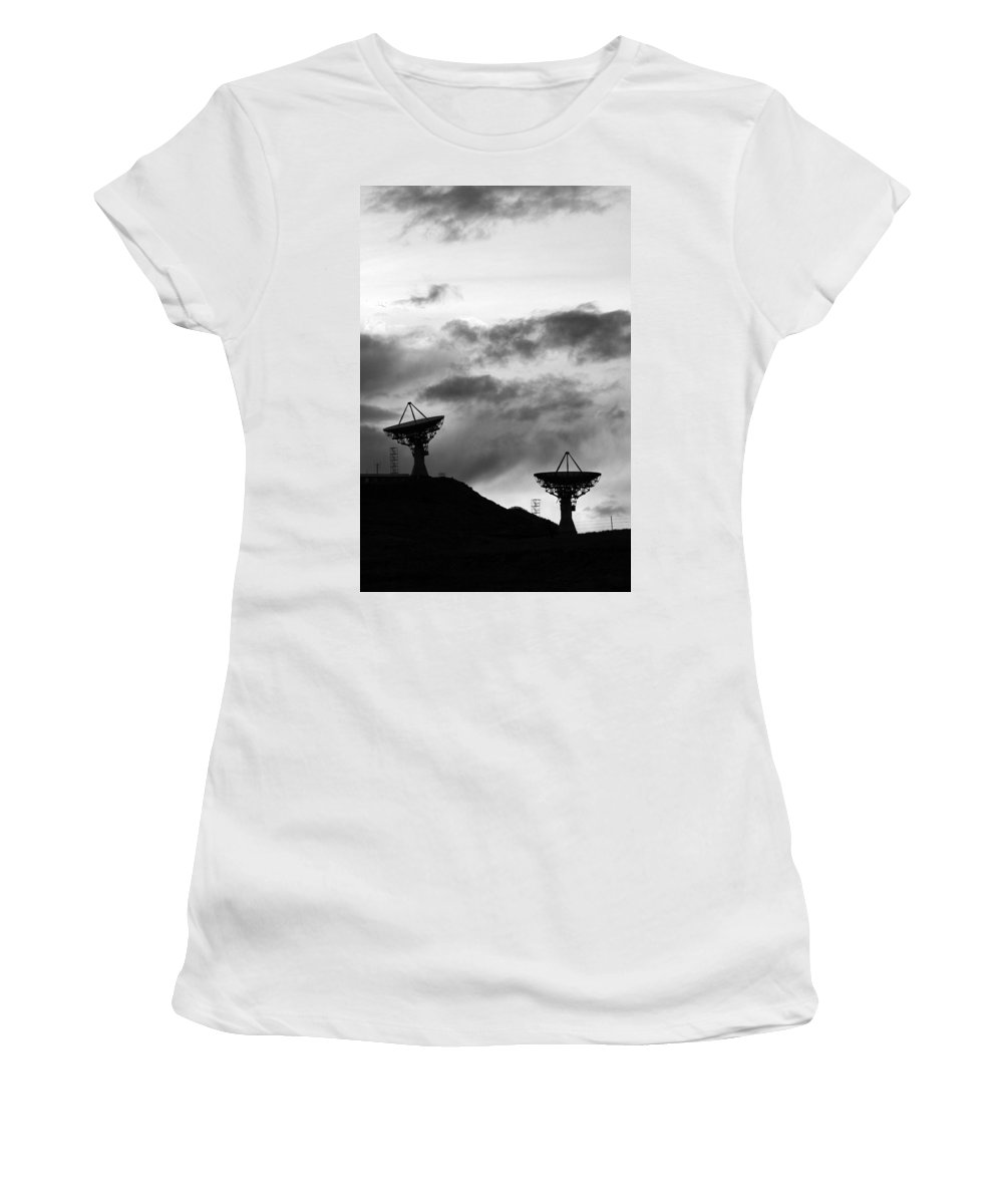 Antenna Women's T-Shirt (Athletic Fit) featuring the photograph Communication by James BO Insogna