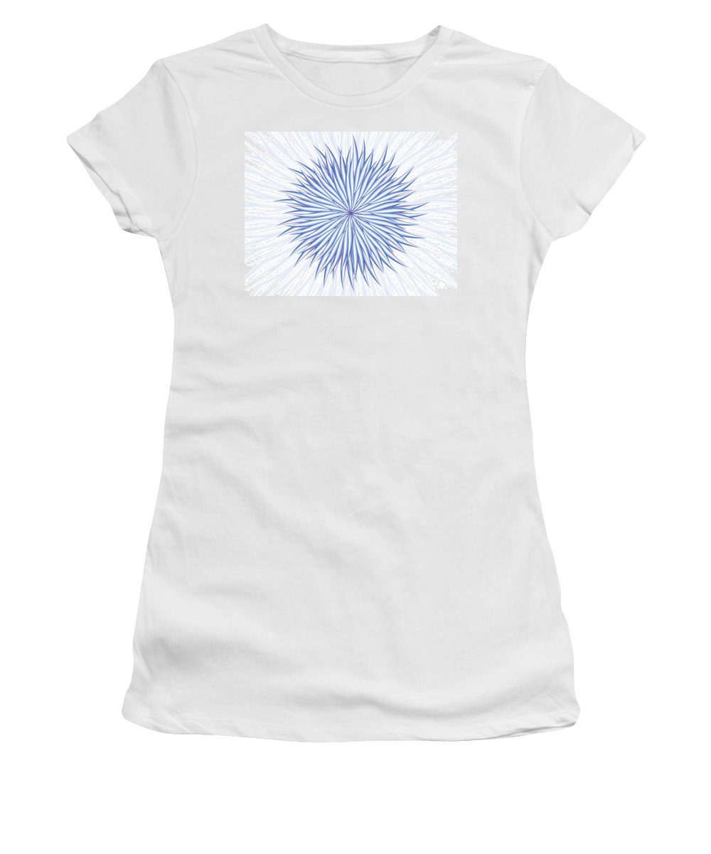Jamie Lynn Gabrich Women's T-Shirt (Athletic Fit) featuring the digital art Concentrate by Jamie Lynn