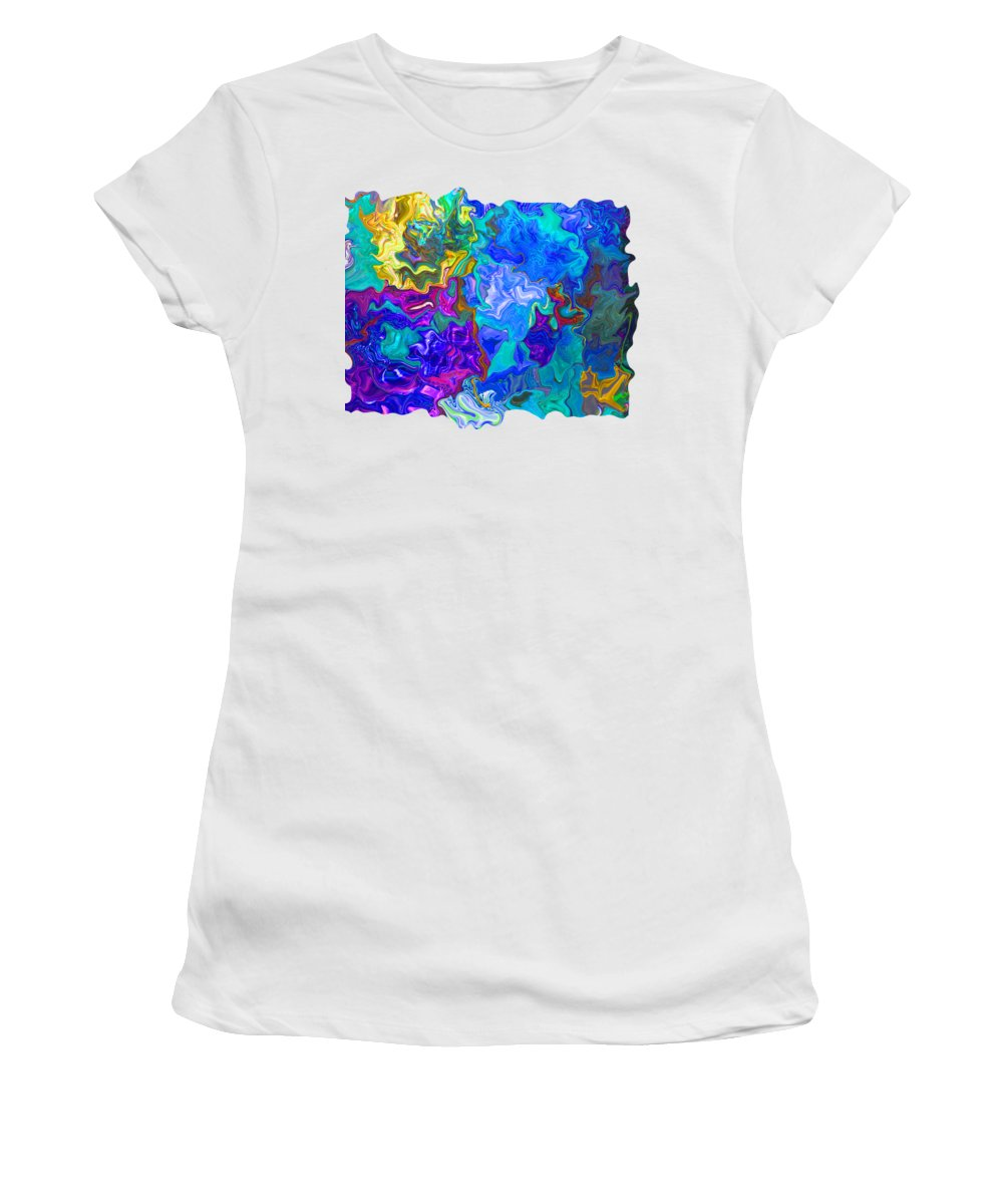 Art Photography Women's T-Shirt (Athletic Fit) featuring the photograph Coral Reef Fantasy by Kathy Moll