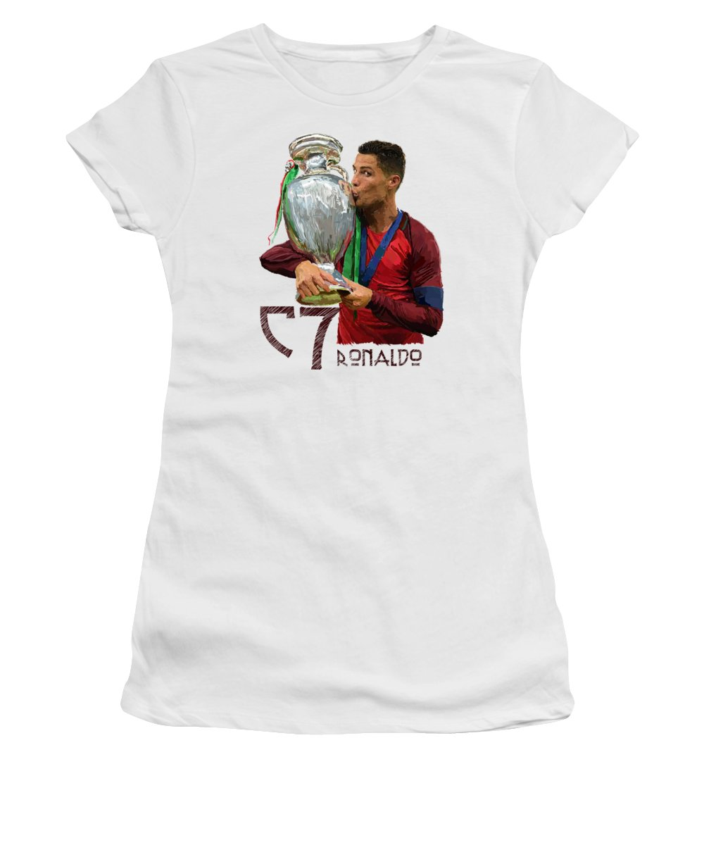 Cristiano Ronaldo Junior T-Shirts