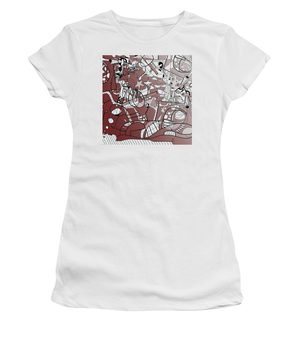 The Pictures From My Mind Women's T-Shirt (Athletic Fit) featuring the photograph Dream State by Kenneth Greene