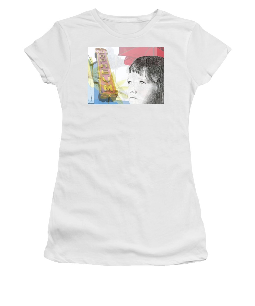 Memphis Women's T-Shirt featuring the photograph Dreams Of Memphis by Amanda Barcon