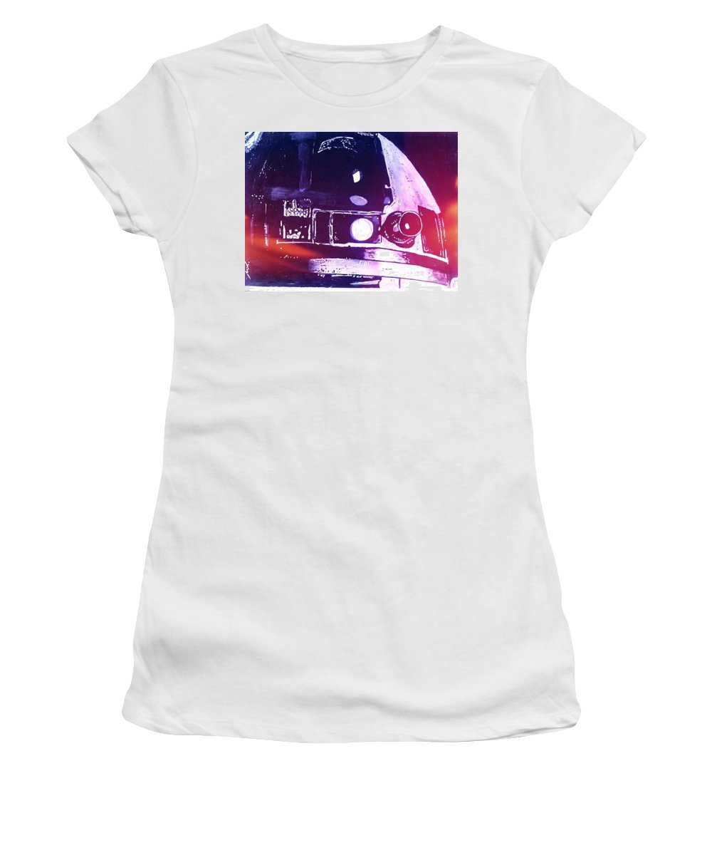 R2d2 Women's T-Shirt featuring the drawing Droid by Michael Smith