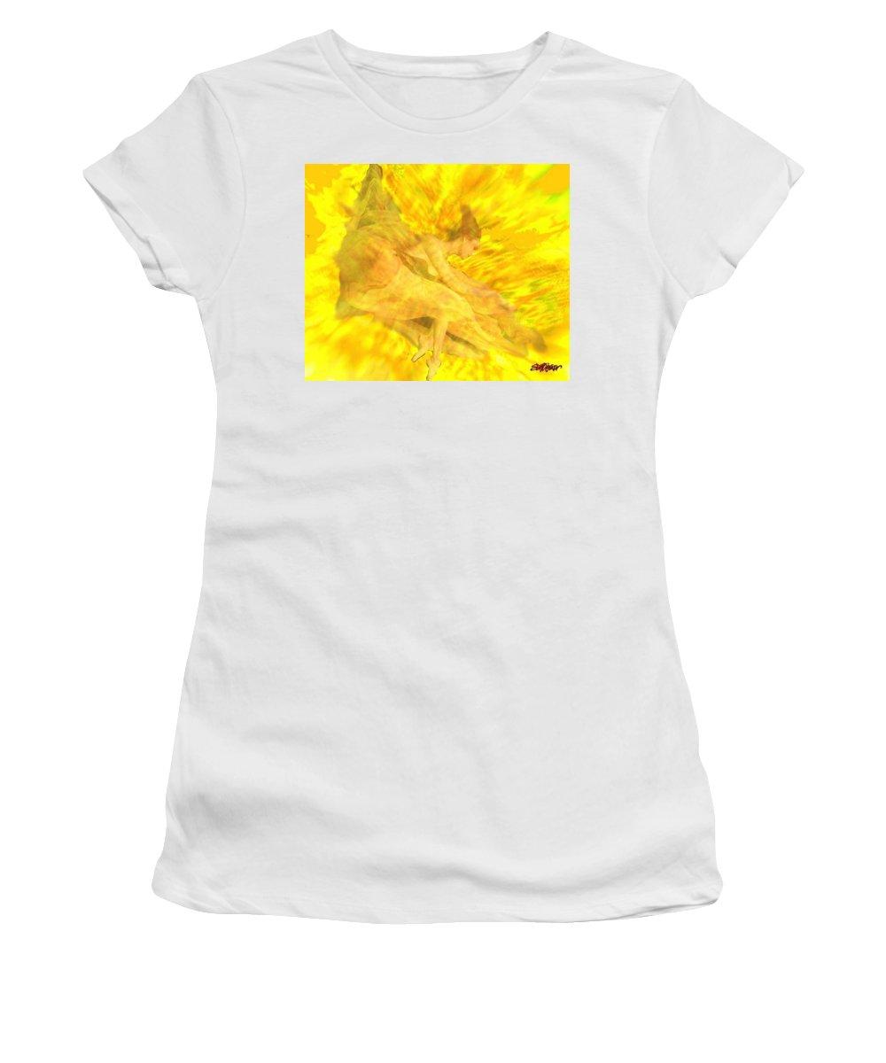 Joy Women's T-Shirt (Athletic Fit) featuring the digital art Endless Joy by Seth Weaver
