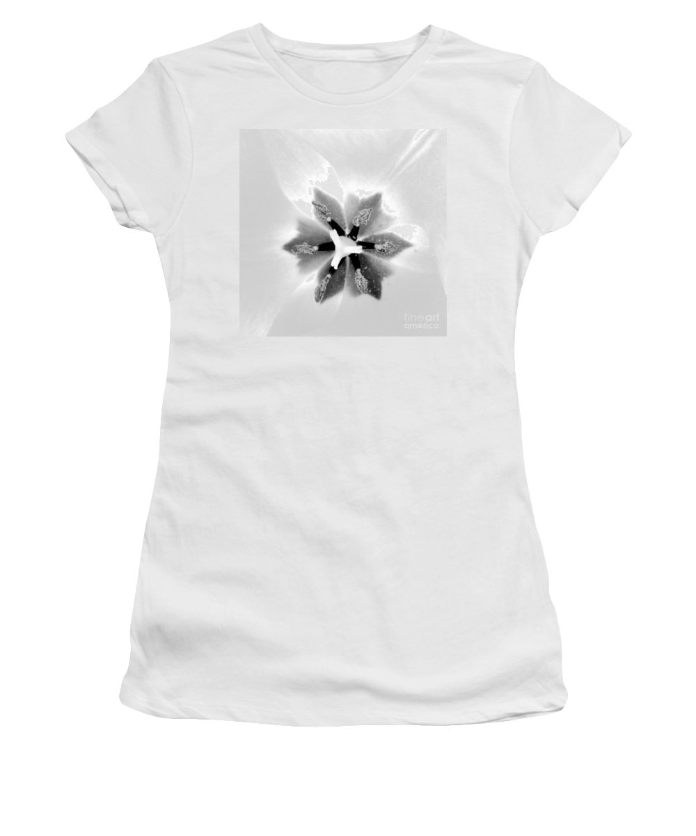 Flower Women's T-Shirt featuring the photograph Etoile A Six Branches by Morgan Veissiere
