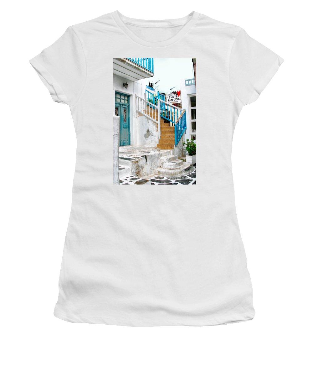Garden Women's T-Shirt featuring the photograph Eva's Garden by Madeline Ellis