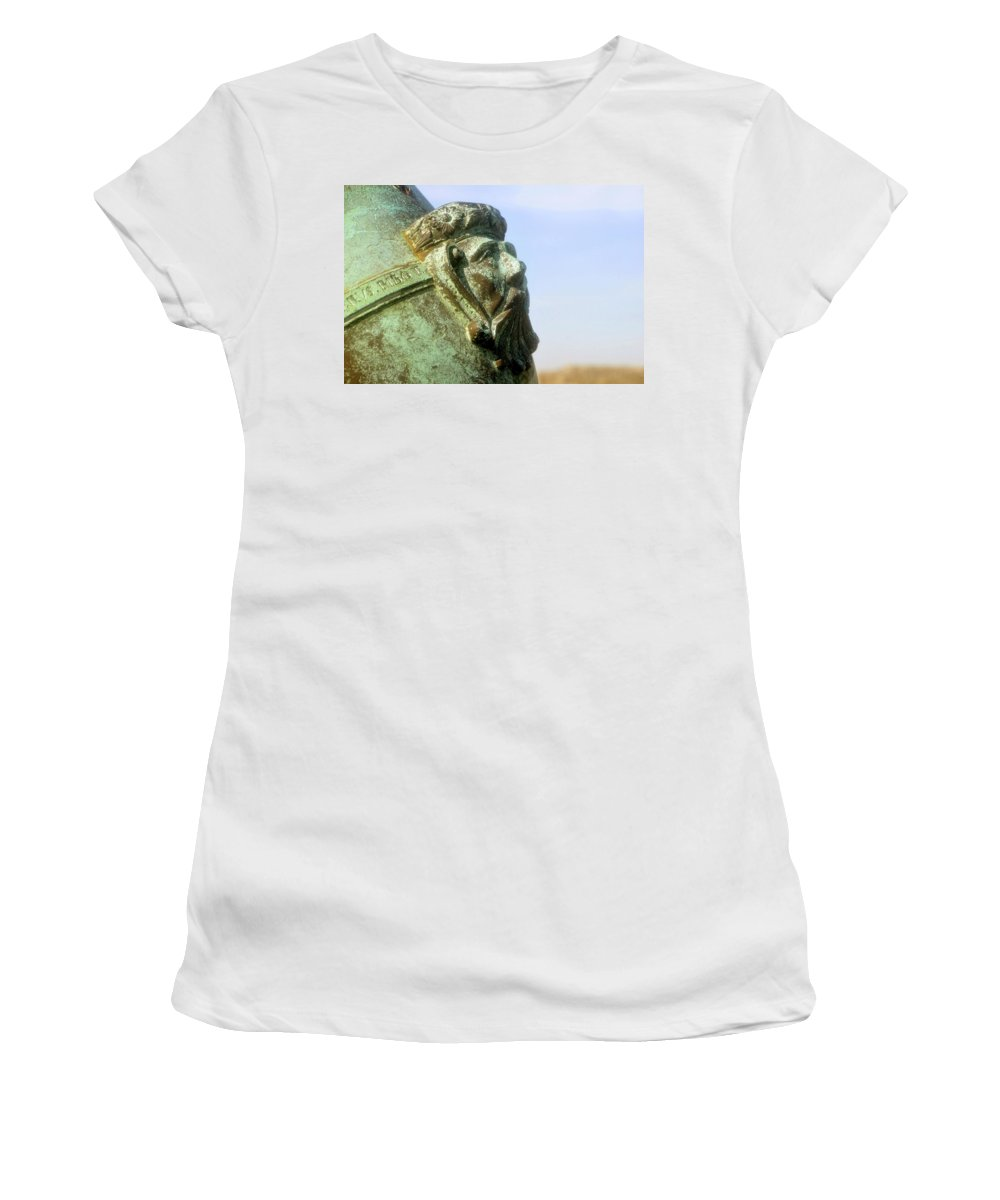 Cannon Women's T-Shirt (Athletic Fit) featuring the photograph Face On The Cannon by David Lee Thompson