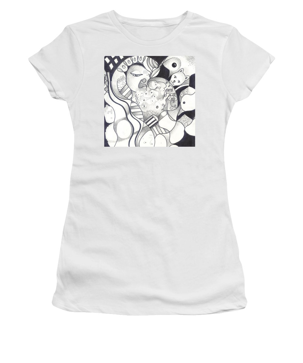 Organic Abstraction Women's T-Shirts