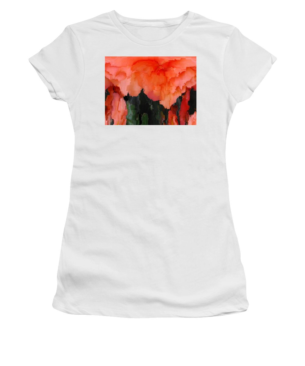 Flower Women's T-Shirt (Athletic Fit) featuring the photograph Flower 3 by Tim Allen