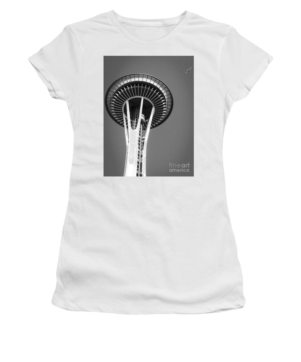 Flight Women's T-Shirt featuring the photograph Fly To The Past by Michael Gailey