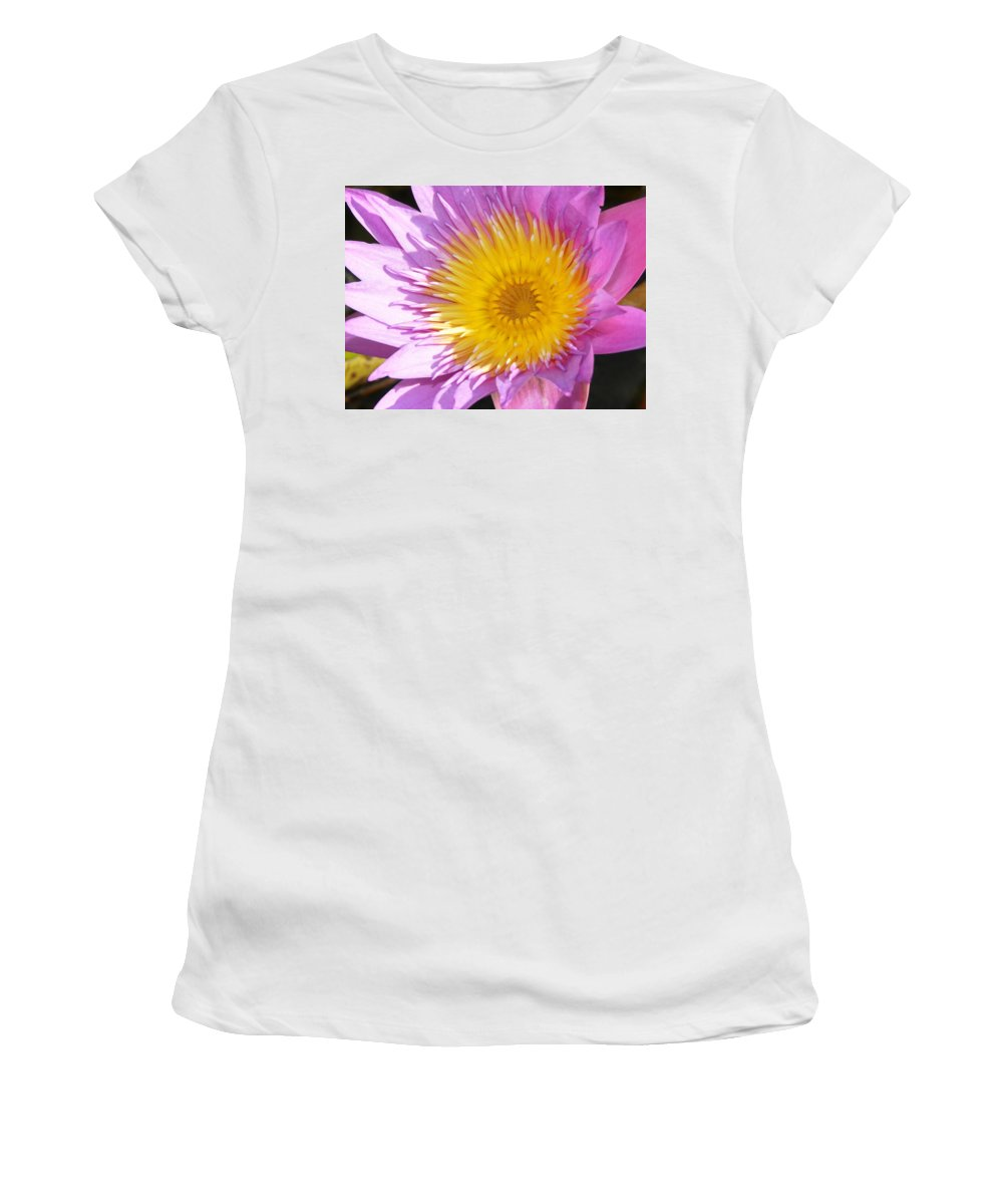 Flower Women's T-Shirt (Athletic Fit) featuring the photograph Full Bloom by David Lee Thompson