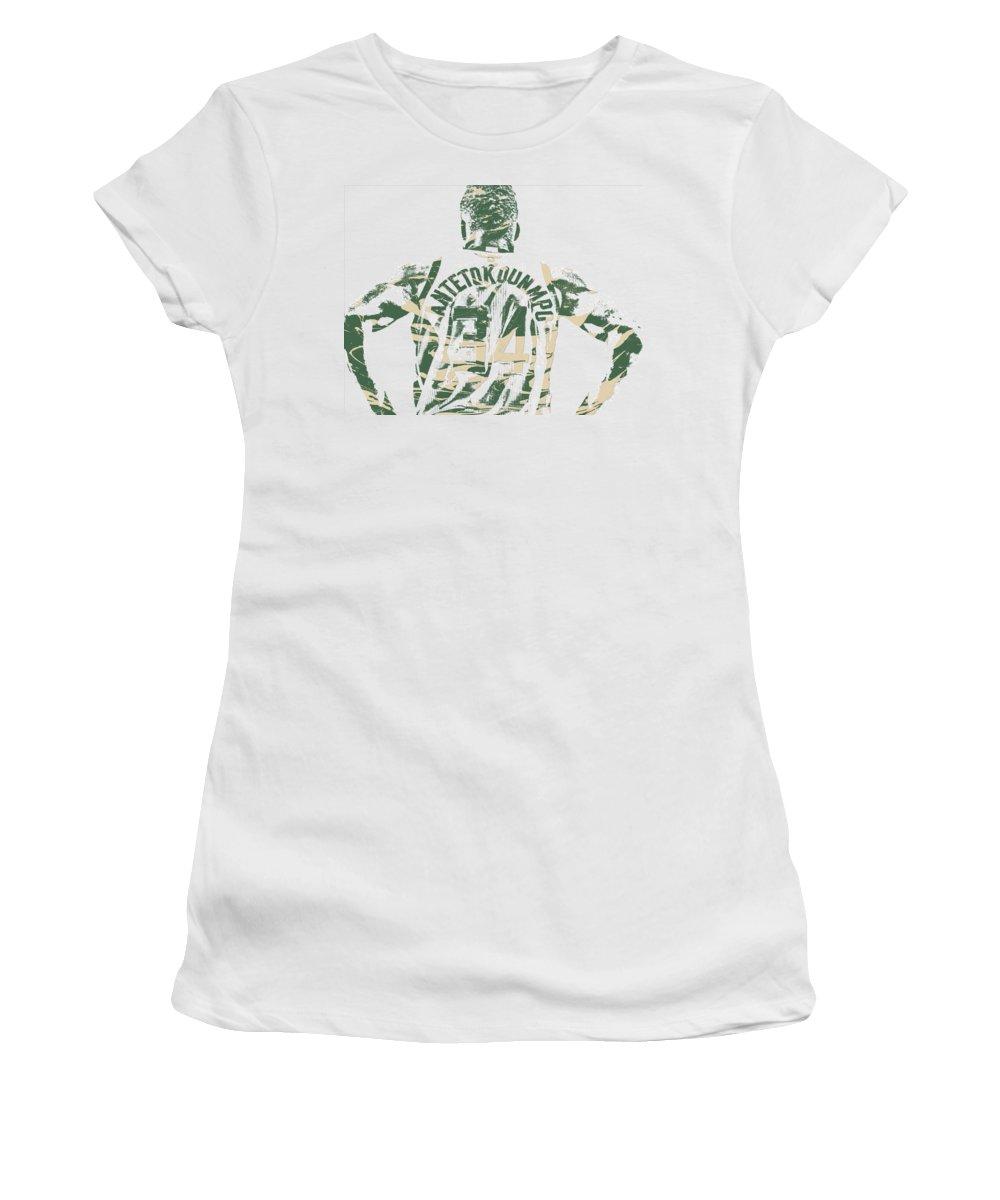 Shorts Mixed Media Women's T-Shirts