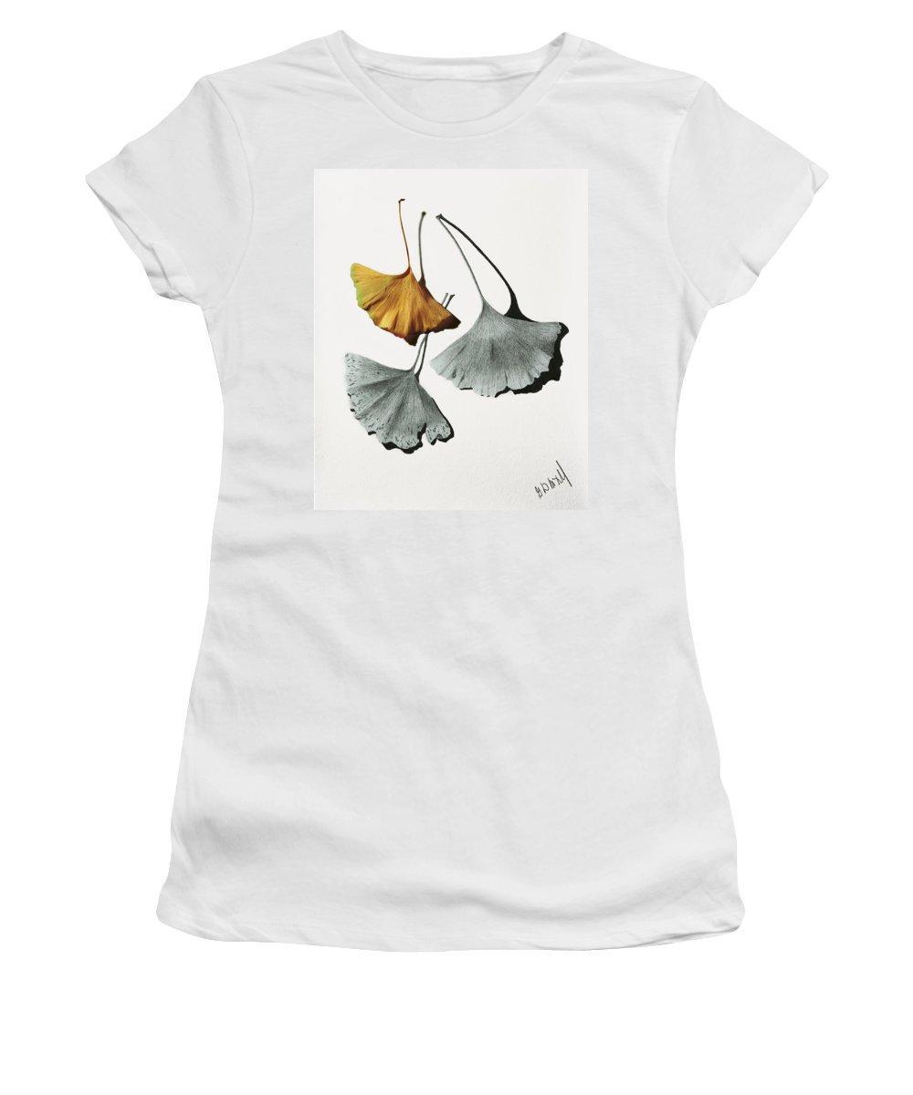 Autumn Still Life Mixed Media Women's T-Shirts